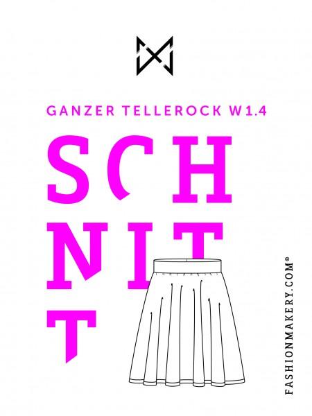Schnittmuster Ganzer Tellerrrock W 1.1