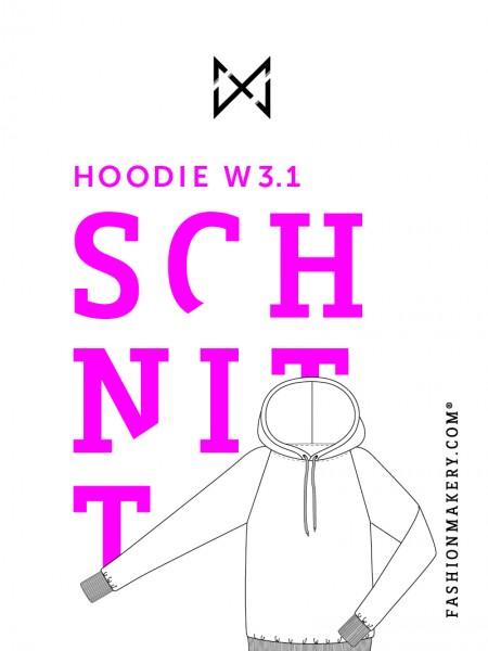 Schnittmuster Hoodie W 3.1 (Gr. 34-46)