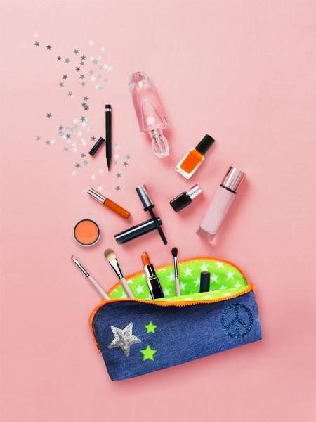 Schnittmuster Kosmetiktasche Mittel